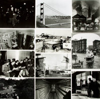 [San Francisco]. Archive of Approximately 170 Photographs Depicting Historic Views of San Francisco