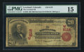 National Bank Notes:Colorado, Loveland, CO - $20 1902 Red Seal Fr. 640 The Loveland NB Ch. #(W)8116. ...