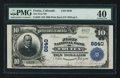 National Bank Notes:Colorado, Fruita, CO - $10 1902 Plain Back Fr. 626 The First NB Ch. # 8840....