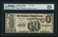 National Bank Notes:Maine, Augusta, ME - $1 Original Fr. 380a The Freemans NB Ch. # 406. ...