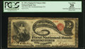 National Bank Notes:Pennsylvania, Northumberland, PA - $2 Original Fr. 387a The First NB Ch. # 566....