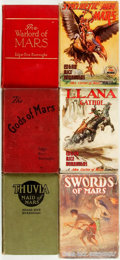 Books:Science Fiction & Fantasy, [Featured Lot]. Edgar Rice Burroughs. Group of Six First Edition Mars Books. Various publishers, 1918 - 1948. ... (Total: 6 Items)
