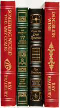 Books:Science Fiction & Fantasy, [Easton Press, Franklin Library]. Ray Bradbury. Group of Four Books, Including Two Signed First Editions. Various publishers... (Total: 4 Items)