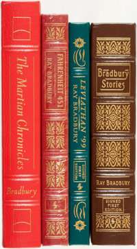 [Easton Press]. Ray Bradbury. Group of Four Books, Including Two Signed First Editions. Norwalk, CT: Easton Press, [1