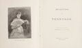 Books:Non-fiction, Beauties of Tennyson. Collection of poems by Alfred Tennyson, illustrated by Frederic B. Schell, printed by Porter & C...