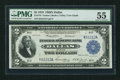 Fr. 776 $2 1918 Federal Reserve Bank Note PMG About Uncirculated 55