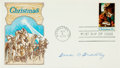 Autographs:Military Figures, Omar Bradley Signed First Day Cover...