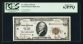 Small Size:Federal Reserve Bank Notes, Low Serial Number Fr. 1860-B $10 1929 Federal Reserve Bank Note. PCGS Choice New 63PPQ.. ...