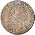 Early Half Dimes, 1795 H10C --Corroded--ANACS. XF40 Details....