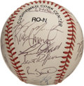 Autographs:Baseballs, 1997 Philadelphia Phillies Team Signed Baseball. The ONL (Coleman)baseball exhibits the signatures of the 1997 Philadelphi...