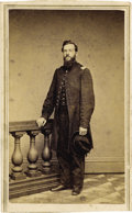 Military & Patriotic:Civil War, CDV Photograph Identified Union Officer - ...