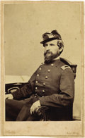 Military & Patriotic:Civil War, Union Officer Charles Mundee CDV....