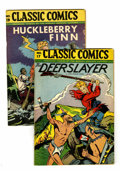 Golden Age (1938-1955):Classics Illustrated, Classics Illustrated #17 and 19 Group (Gilberton, 1946) Condition: Average VF.... (Total: 2 Comic Books)