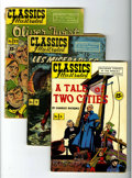 Golden Age (1938-1955):Classics Illustrated, Classics Illustrated Group (Gilberton, 1945-52) Condition: AverageGD.... (Total: 15 Comic Books)