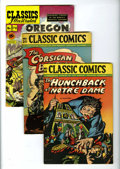 Golden Age (1938-1955):Classics Illustrated, Classics Illustrated Group (Gilberton, 1946-66) Condition: Average FN.... (Total: 7 Comic Books)