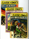 Golden Age (1938-1955):Classics Illustrated, Classics Illustrated Group (Gilberton, 1944-49) Condition: Average GD.... (Total: 10 Comic Books)