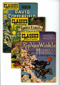Golden Age (1938-1955):Classics Illustrated, Classics Illustrated Group (Gilberton, 1943-49) Condition: AverageVG-.... (Total: 9 Comic Books)