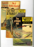 Silver Age (1956-1969):Classics Illustrated, Classics Illustrated Junior/Special Group (Gilberton, 1955-60)Condition: Average GD/VG.... (Total: 6 Comic Books)