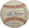 Autographs:Baseballs, 1966 Washington Senators Team Signed Baseball. The 1966 edition ofthe Washington Senators finished 2nd in their division, ...