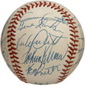 Autographs:Baseballs, 1989 Minnesota Twins Team Signed Baseball. Includes the signatureof Hall of Famer Kirby Puckett, Gary Gaetti, manager Tom ...