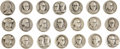 Political:Tokens & Medals, Large Assortment of 68 Historically-Themed Sterling Silver Medals and Tokens.... (Total: 68 Items)