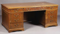 Political:3D & Other Display (1896-present), George H. W. Bush's Desk Owned and Used by Him as a Congressman from Texas, 1967-1971....