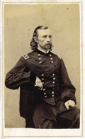 Military & Patriotic:Civil War, BEAUTIFUL MAJOR GENERAL GEORGE A. CUSTER CDV....