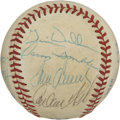 Autographs:Baseballs, 1985 Chicago White Sox Team Signed Baseball. Much Hall of Fametalent is represented with the team signed baseball that we ...