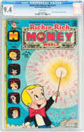 Bronze Age (1970-1979):Cartoon Character, Richie Rich Money World #1 (Harvey, 1972) CGC NM 9.4 Whitepages....