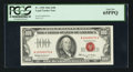Small Size:Legal Tender Notes, Low Serial Number Fr. 1550 $100 1966 Legal Tender Note. PCGS Gem New 65PPQ.. ...
