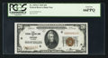 Small Size:Federal Reserve Bank Notes, Low Serial Number Fr. 1870-G $20 1929 Federal Reserve Bank Note. PCGS Gem New 66PPQ.. ...