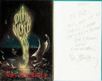 [Featured Lot]. Ray Bradbury. INSCRIBED/LIMITED. Something Wicked This Way Comes. New York: Alf