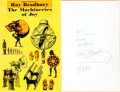 Books:Science Fiction & Fantasy, Ray Bradbury. INSCRIBED. The Machineries of Joy. New York:Simon and Schuster, 1964....
