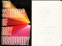Ray Bradbury. INSCRIBED/LIMITED. The Stories of Ray Bradbury. New York: Alfred A. Knopf, 1980