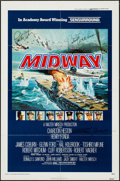 "Movie Posters:War, Midway (Universal, 1976). Autographed One Sheet (27"" X 41""). War....."
