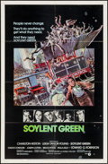 "Movie Posters:Science Fiction, Soylent Green (MGM, 1973). Autographed One Sheet (27"" X 41"").Science Fiction.. ..."