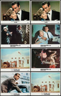 "Movie Posters:James Bond, Dr. No & Others Lot (United Artists, R-1984). Lobby Cards (8)(11"" X 14""). James Bond.. ... (Total: 8 Items)"
