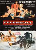 "Movie Posters:James Bond, Thunderball (United Artists, 1965). Full-Bleed German A1 (23.5"" X 33""). James Bond.. ..."