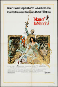 "Man of La Mancha & Others Lot (United Artists, 1972). One Sheets (3) (27"" X 41""), Program (52 Pages, 8..."