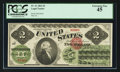 Fr. 41 $2 1862 Legal Tender PCGS Extremely Fine 45