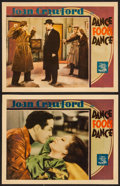 "Movie Posters:Drama, Dance Fools Dance (MGM, 1931). Lobby Cards (2) (11"" X 14""). Drama.. ... (Total: 2 Items)"