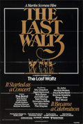 "Movie Posters:Rock and Roll, The Last Waltz (United Artists, 1978). One Sheet (27"" X 41""). Rock and Roll.. ..."
