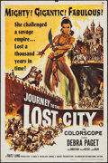 "Movie Posters:Adventure, Journey to the Lost City & Other Lot (American International,1960). One Sheets (2) (27"" X 41""). Adventure.. ... (Total: 2 Items)"