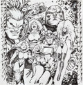 "Original Comic Art:Miscellaneous, Dale Keown Superman: Our Worlds At War Secret Files #1""Alien Allies"" Preliminary Artwork Original Art (DC, 2001)...."