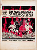Original Comic Art:Covers, Paul Quinn The Four Horsemen of the Apocalypse Book CoverOriginal Art (undated)....