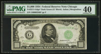 Fr. 2211-G* $1,000 1934 Federal Reserve Note. PMG Extremely Fine 40