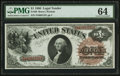 Large Size:Legal Tender Notes, Fr. 30 $1 1880 Legal Tender PMG Choice Uncirculated 64.. ...