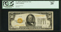Small Size:Gold Certificates, Fr. 2404* $50 1928 Gold Certificate. PCGS Very Fine 20.. ...