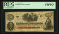 Confederate Notes:1862 Issues, T41 $100 1862 PF-64.. ...