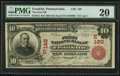 National Bank Notes:Pennsylvania, Franklin, PA - $10 1902 Red Seal Fr. 613 The First NB Ch. # (E)189....